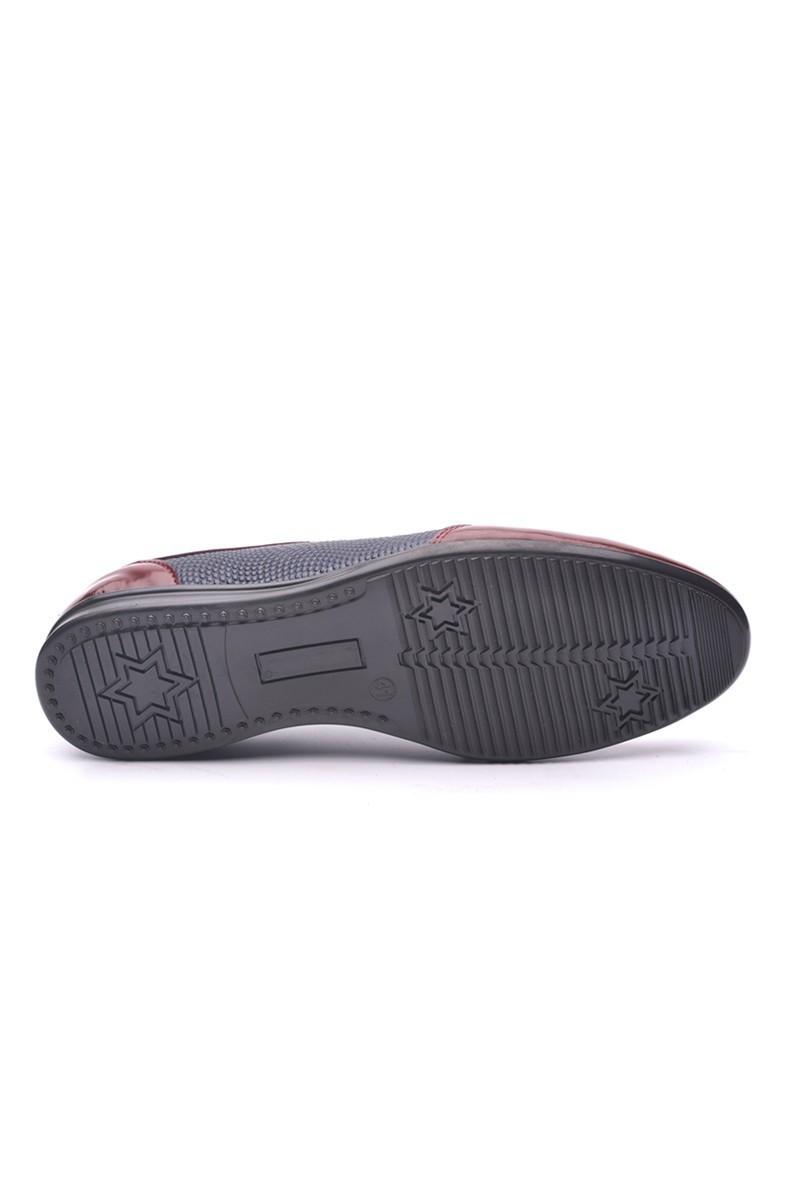 Polomen Lacivert-Bordo PLM-1080 Erkek Ayakkabı