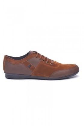 Polomen Kahverengi PLM-1072 Erkek Ayakkabı