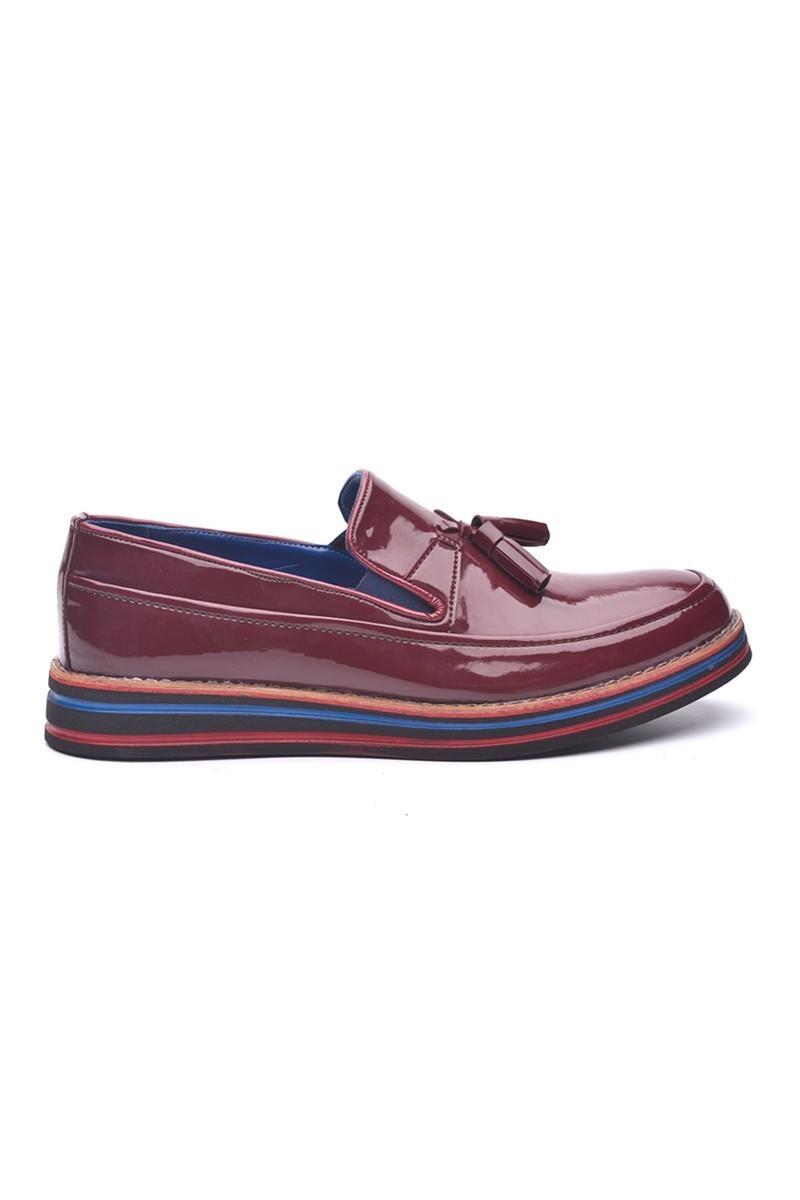 BLUESOIL Bordo BS-20-012 Erkek Ayakkabı