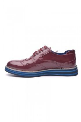BLUESOIL Bordo BS-20-001 Erkek Ayakkabı