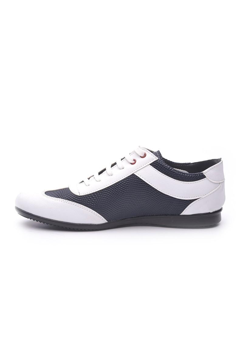 Polomen Beyaz-Lacivert PLM-1080 Erkek Ayakkabı