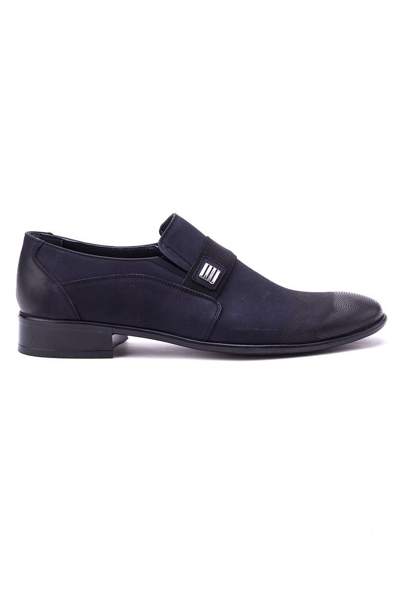 Ali Karaca Lacivert AK-1900 Hakiki Deri Erkek Klasik Ayakkabı