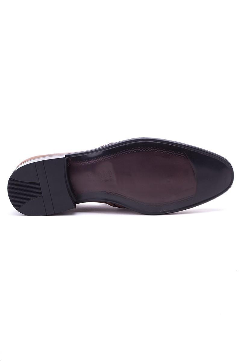 Ali Karaca Siyah AK-2500 Hakiki Deri Erkek Klasik Ayakkabı