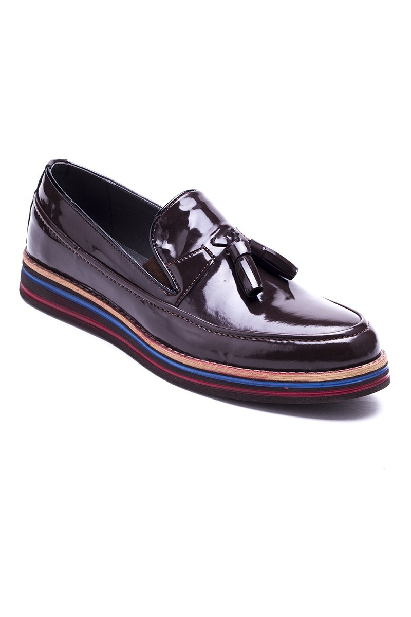 BLUESOIL Kahverengi BS-20-012-RGN Erkek Ayakkabı