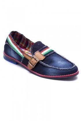 Luca Fontana Lacivert-Taba LUC-311 Erkek Ayakkabı