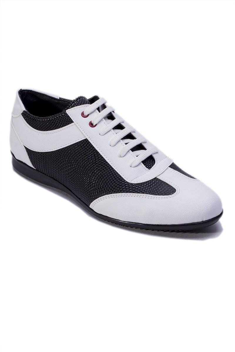 Polomen Beyaz-Siyah PLM-1080 Erkek Ayakkabı