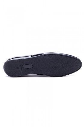 Chaos Lacivert TS-03-DUZ Hakiki Deri Erkek Ayakkabı