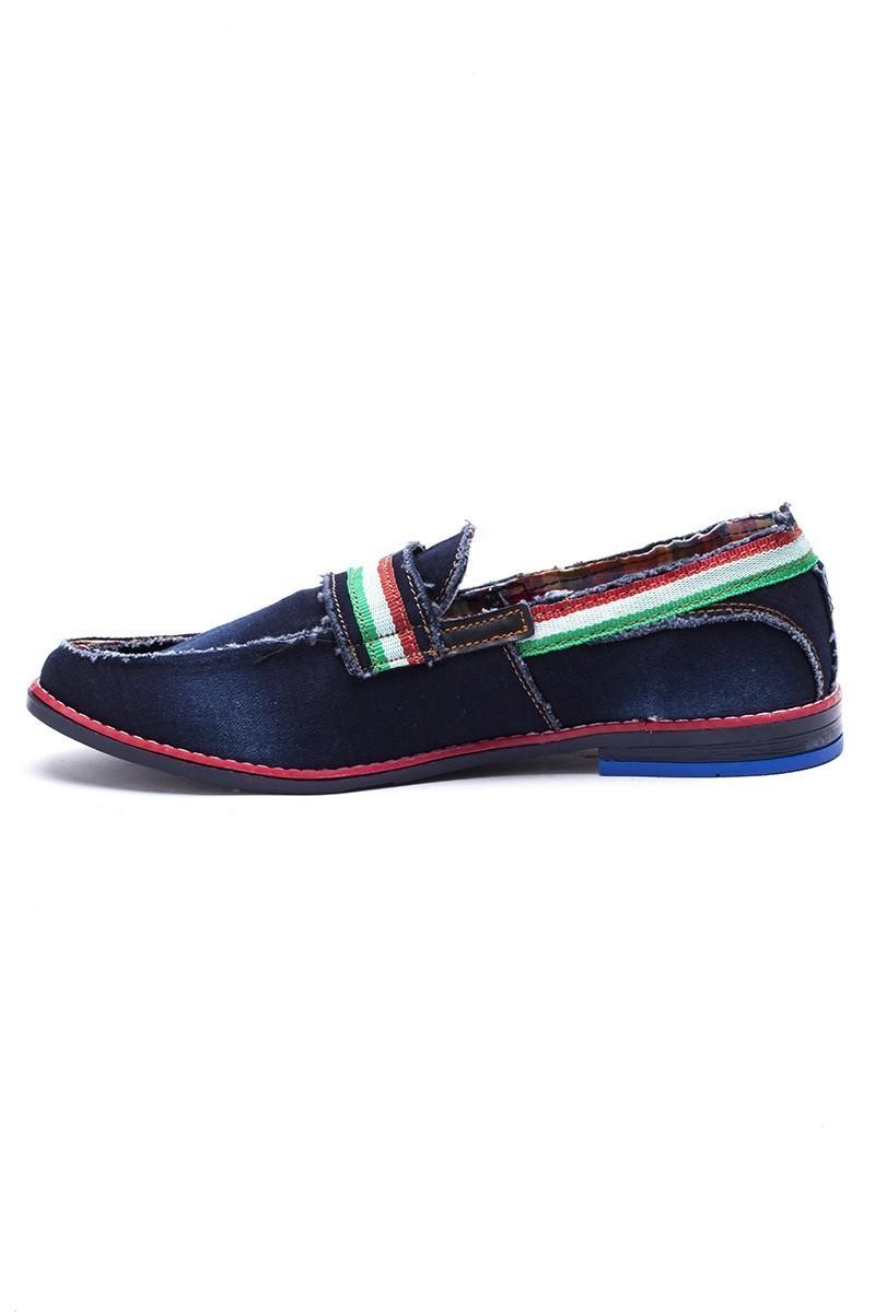 Luca Fontana Lacivert-Siyah LUC-311 Erkek Ayakkabı