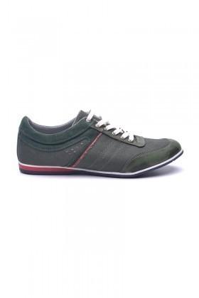 LA POLO Yeşil-Taba LPL-1504 Erkek Ayakkabı