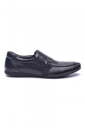 BLUESOIL Siyah BS-20-006-MAT Erkek Ayakkabı