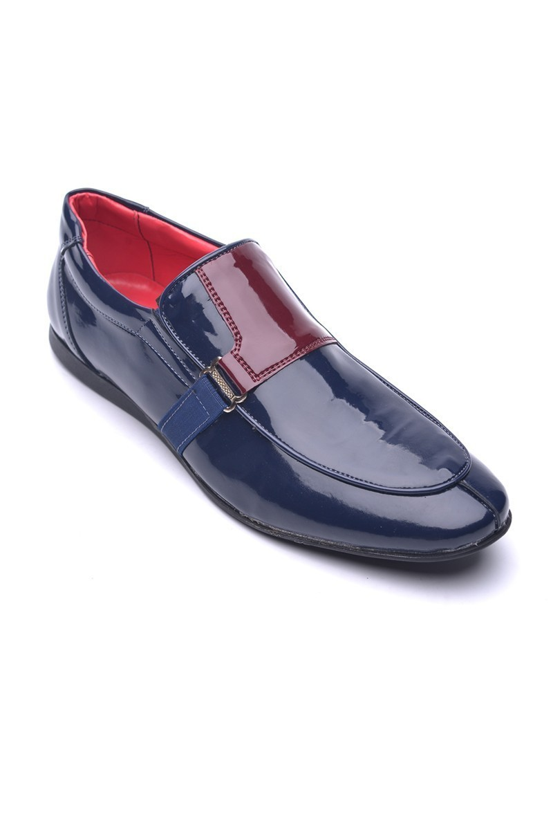 BLUESOIL Lacivert-Bordo BS-20-006 Erkek Ayakkabı