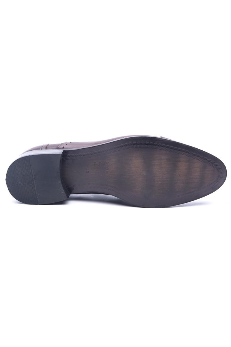Wenetti Kahverengi WNT-0045 Hakiki Deri Erkek Klasik Ayakkabı