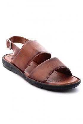 Cotaro Taba CTR-1300 Hakiki Deri Erkek Sandalet
