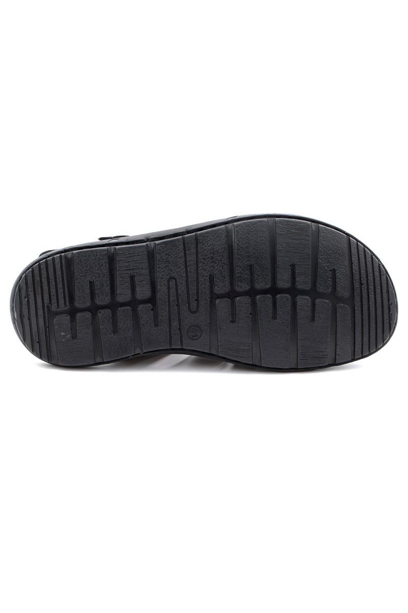 Cotaro Siyah CTR-1200 Erkek Sandalet