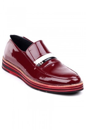 BLUESOIL Bordo BS-20-015 Erkek Ayakkabı