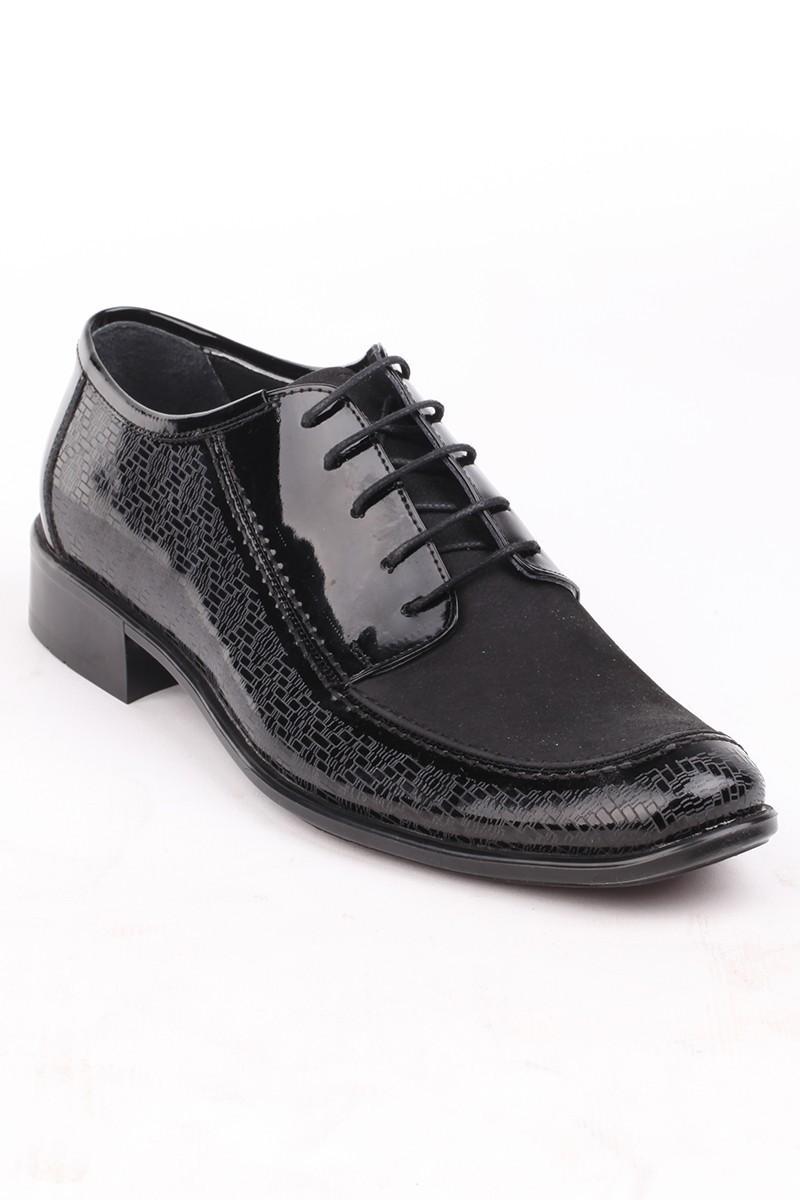 Ali Karaca Siyah AK-2700 Hakiki Deri Erkek Klasik Ayakkabı