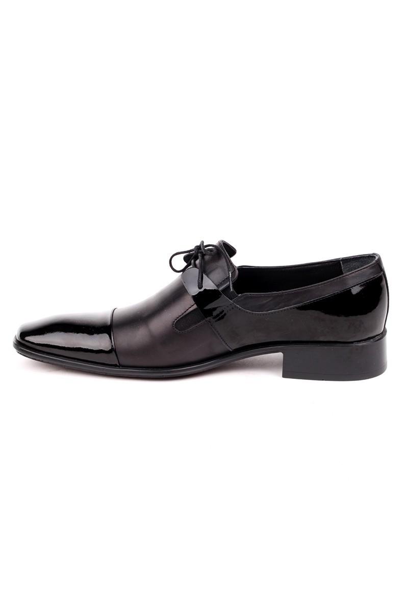 Ali Karaca Siyah AK-2800 Hakiki Deri Erkek Klasik Ayakkabı
