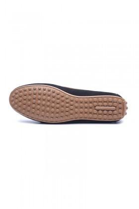 BLUESOIL Siyah-Taba BS-2525-SUET Hakiki Deri Erkek Ayakkabı