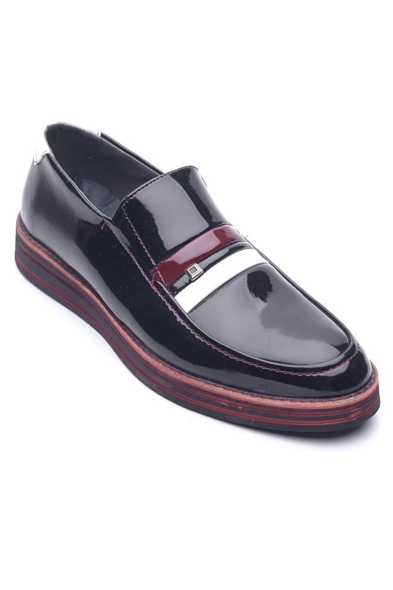 BLUESOIL Siyah BS-20-015-RGN Erkek Ayakkabı
