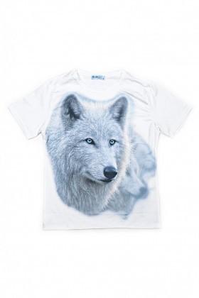 BLUESOIL Beyaz BS-08-13 3D Erkek Tişört