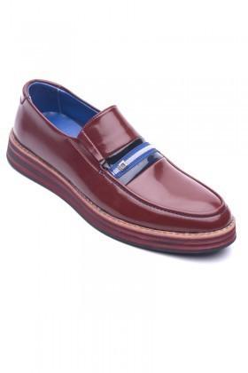BLUESOIL Bordo BS-20-016 Erkek Ayakkabı