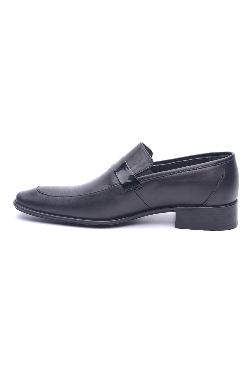 Ali Karaca Siyah AK-2900 Hakiki Deri Erkek Klasik Ayakkabı