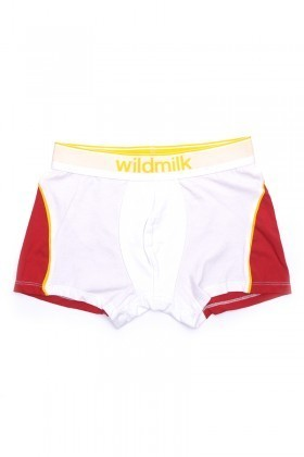 Wildmilk Beyaz WM-020 Erkek Boxer