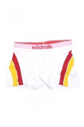 Wildmilk Beyaz WM-018 Erkek Boxer