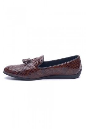 BLUESOIL Taba BS-02 Hakiki Deri Erkek Ayakkabı