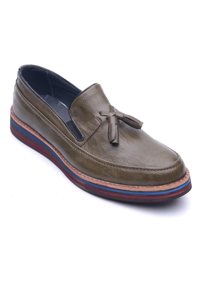 BLUESOIL Haki BS-20-012 Erkek Ayakkabı