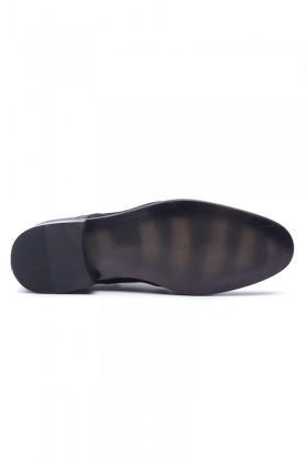 Wenetti Siyah WNT-1010 Hakiki Deri Klasik Erkek Ayakkabı
