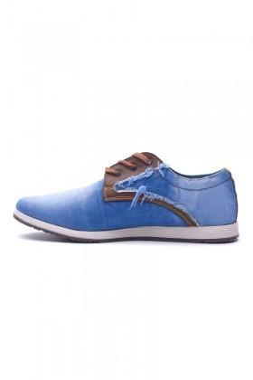 LA POLO Gök Mavi LUC-900 Erkek Ayakkabı