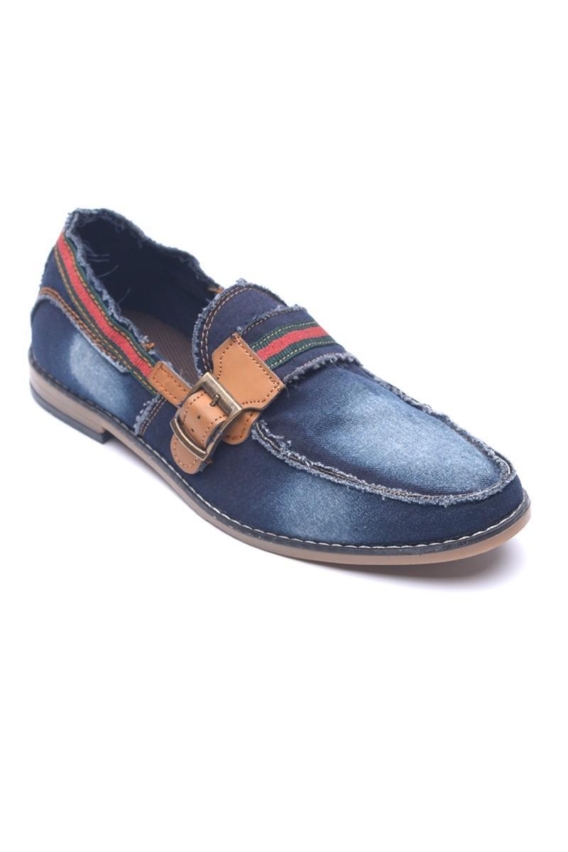 LA POLO Mavi-Taba LUC-500 Erkek Ayakkabı