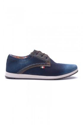 LA POLO Mavi LUC-212 Erkek Ayakkabı