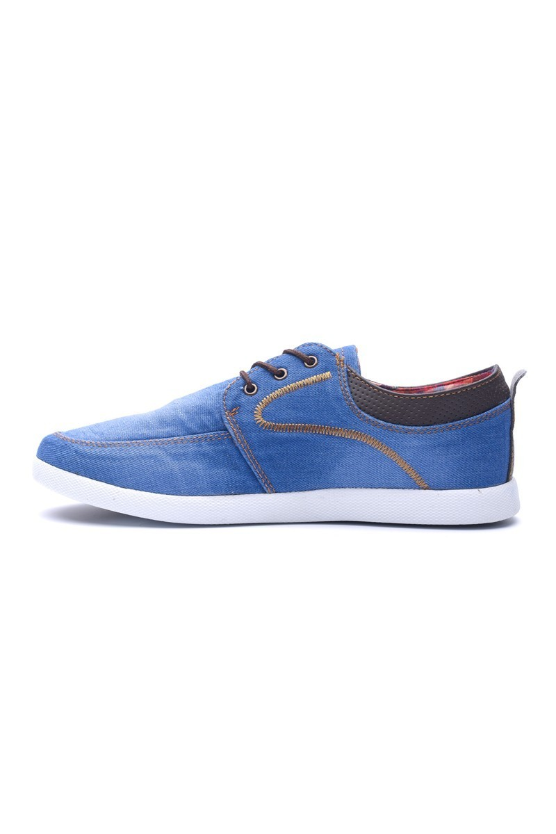 LA POLO Mavi LPL-242 Erkek Ayakkabı
