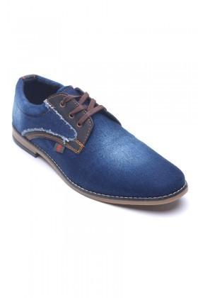 LA POLO Mavi LPL-334 Erkek Ayakkabı