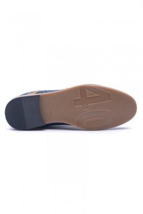 LA POLO Mavi-Taba LPL-333 Erkek Ayakkabı