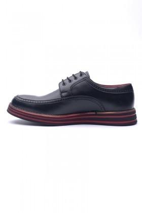 BLUESOIL Siyah BS-20-002-MAT Erkek Ayakkabı
