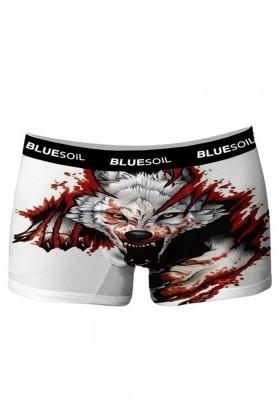 BLUESOIL Karışık Renkli BS-1027 3D Erkek Boxer