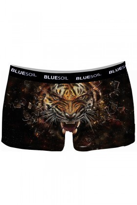 BLUESOIL Karışık Renkli BS-1038 3D Erkek Boxer