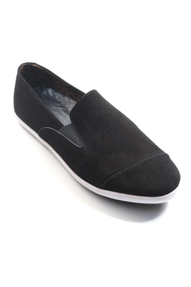 Fresco Siyah FRC-12500 Hakiki Deri Erkek Ayakkabı