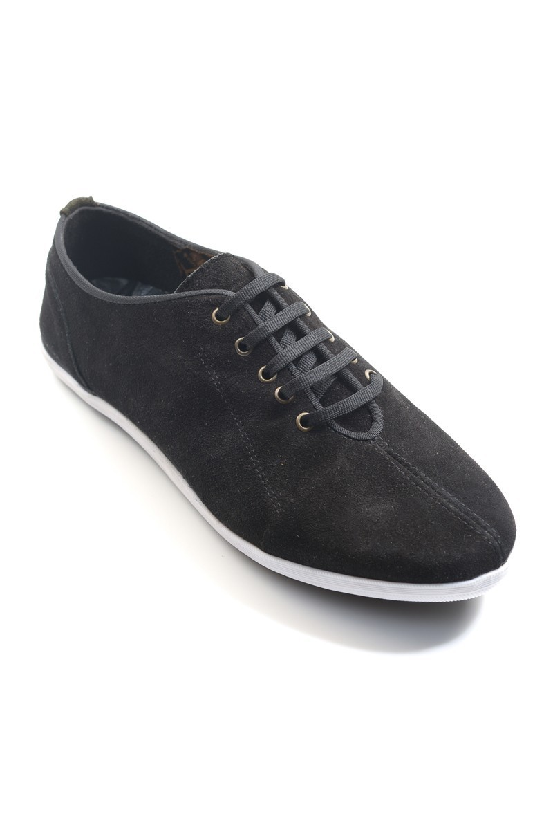 Fresco Siyah FRC-12200 Hakiki Deri Erkek Ayakkabı