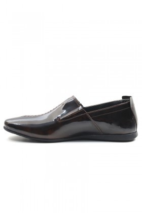 BLUESOIL Kahverengi BS-20-19 Hakiki Deri Erkek Ayakkabı