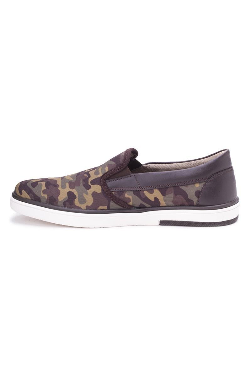 DOCKERS Kamuflaj-Haki 218452 Kamuflaj Desen Erkek Ayakkabı