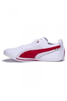 PUMA Beyaz-Kırmızı 30532103 Erkek Spor Ayakkabı