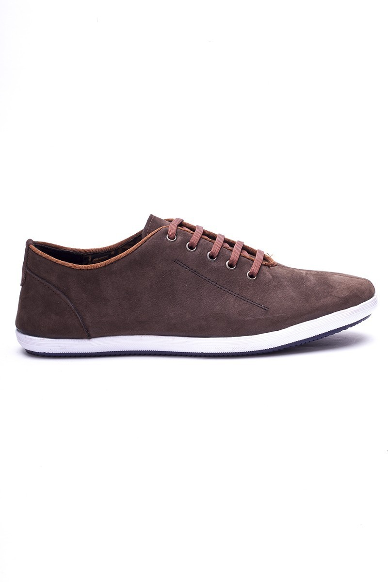 Fresco Kahverengi FRC-12200 Hakiki Deri Erkek Ayakkabı
