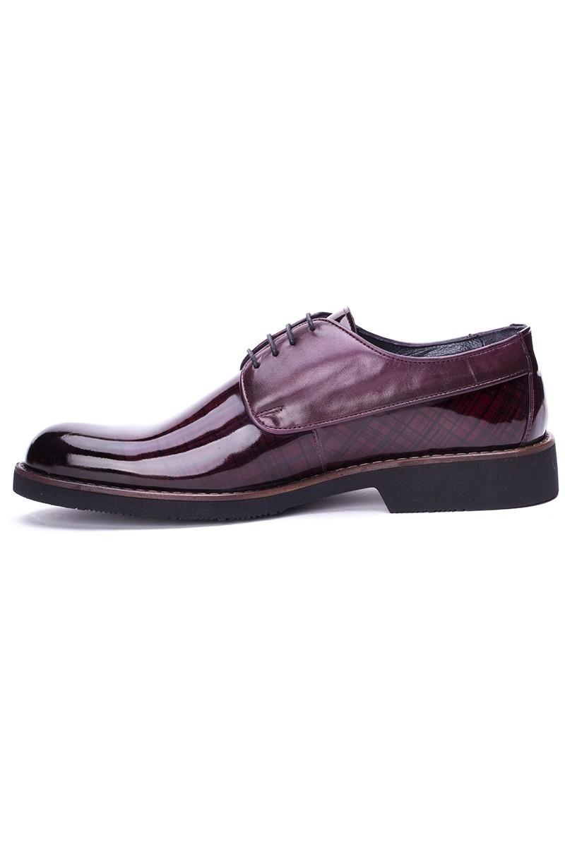 BLUESOIL Bordo BS-6006 Hakiki Deri Erkek Ayakkabı