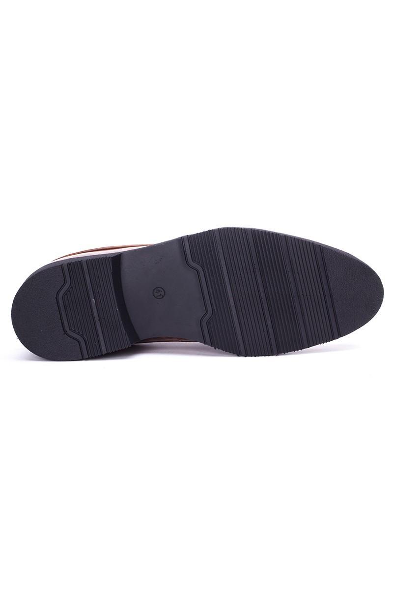 BLUESOIL Taba BS-3439 Hakiki Deri Erkek Ayakkabı