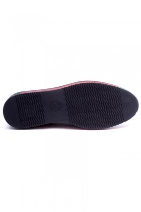 BLUESOIL Siyah BS-20-23 Hakiki Deri Erkek Ayakkabı