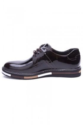 BLUESOIL Kahverengi BS-20-22 Hakiki Deri Erkek Ayakkabı